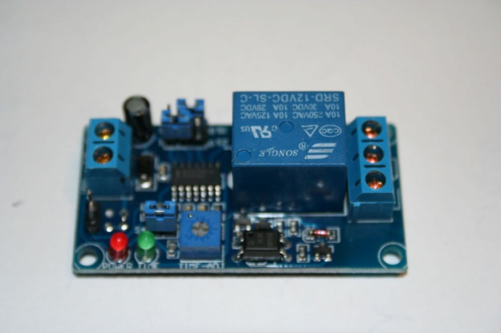12V DC delay relay for locking and access control